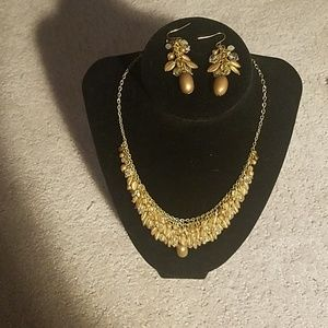 Jewelry - Earrings and Necklace Set